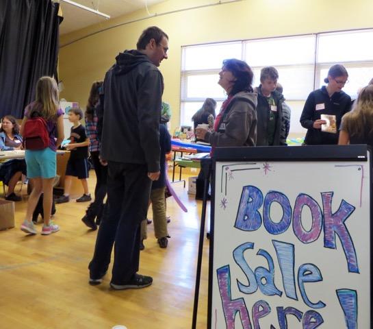 PTA's book sale