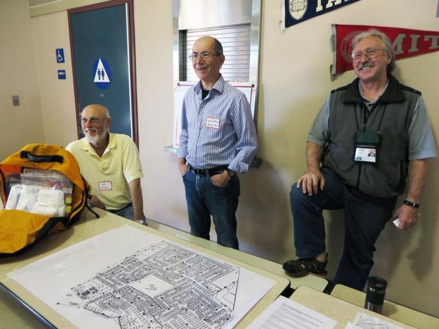 CERT members John Thomas, John Partlan, Tim Slattery