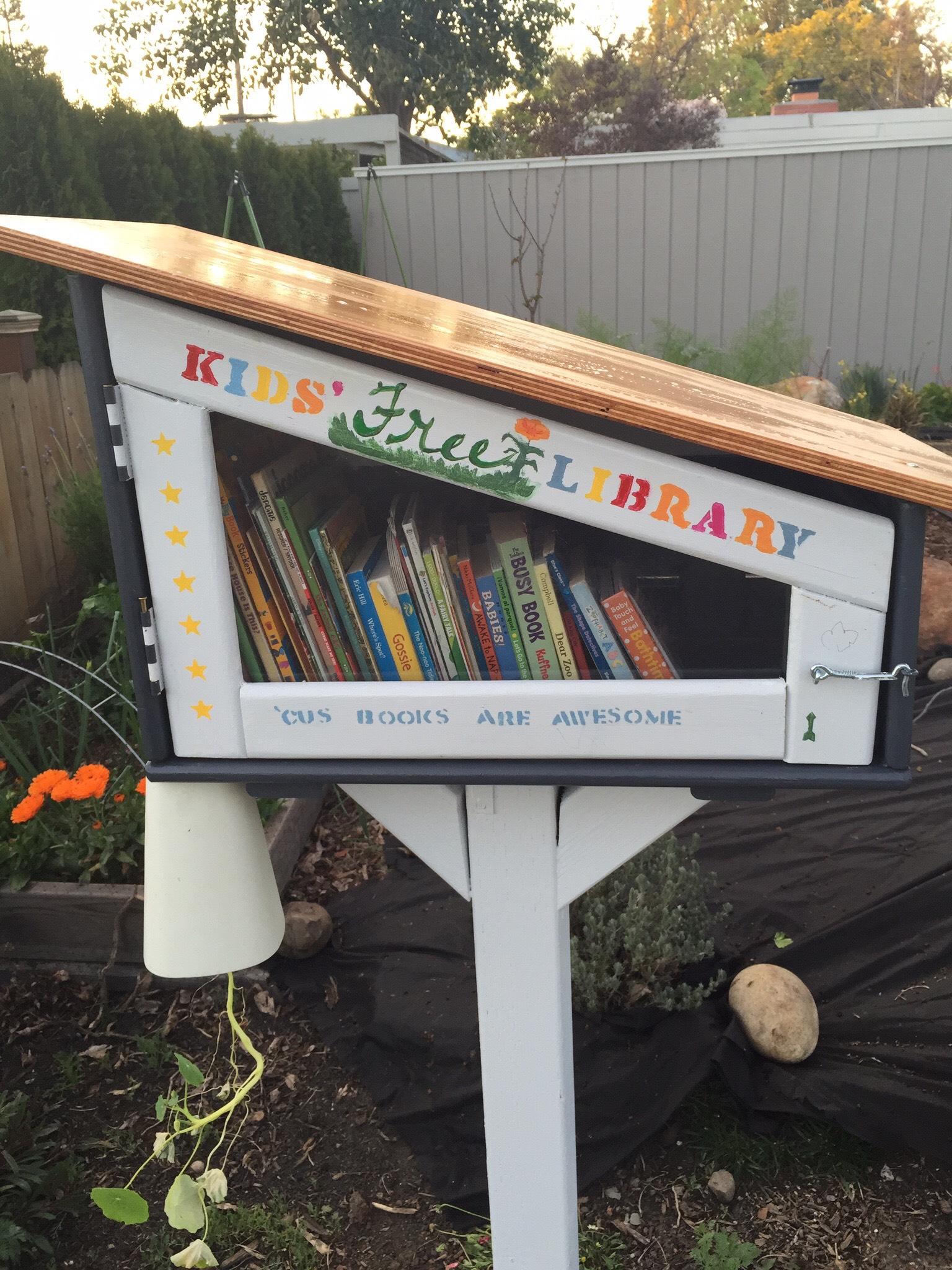 Little Free Libraries Monta Loma Neighborhood