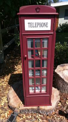 The newest Little Free Library is on Jewell.